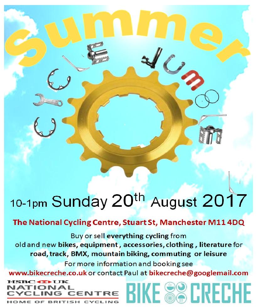 Summer Bike Creche Event Information